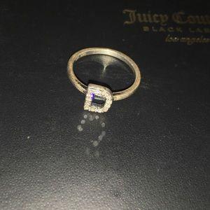 Authentic DIAMOND 925 mk Ring